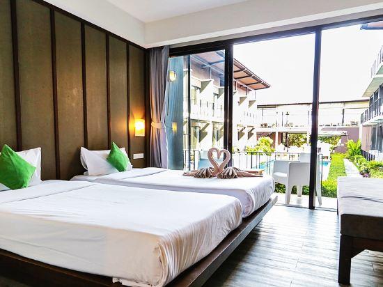 沙美岛拉吕纳海滩度假酒店(la lune beach resort koh