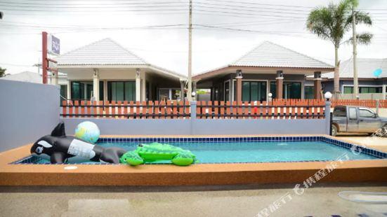 鯨魚泳池別墅酒店