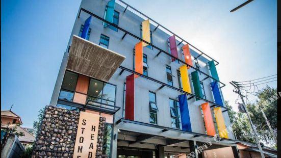 華欣石雕頭像酒店
