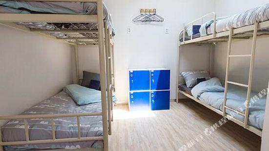 Inside Busan Hostel