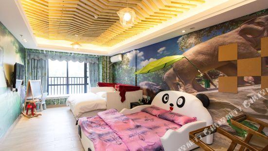 靜棲度假酒店(廣州漢溪長隆地鐵站店)