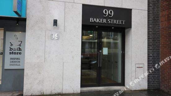 Baker Apartment in Marylebone