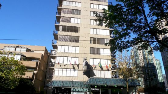 Riviera Hotel on Robson Downtown Vancouver