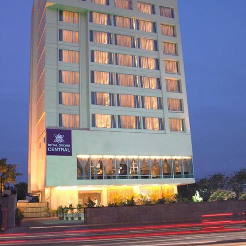 齊普爾皇家蘭花中央酒店