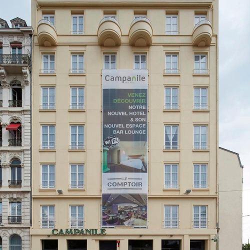 호텔 캉파닐 리옹 상트르 - 가르 페라쉬 - 콩플뤼앙스