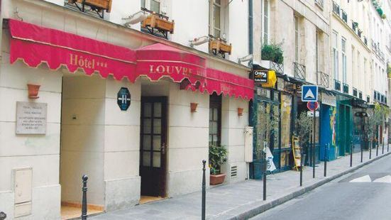 巴黎庭院盧浮宮裡沃利酒店