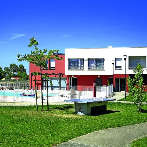 圖盧茲機場科爾內巴爾裏厄城市公寓