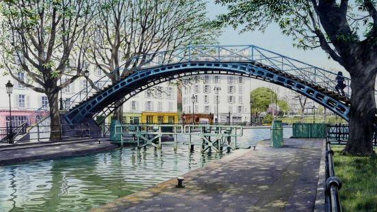 基里亞德巴黎10號聖馬丁運河共和國酒店