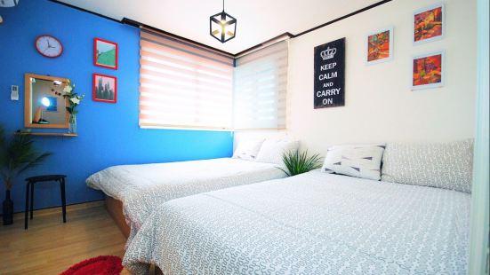 Anne House_4/Hongdae/3Rooms+2Bathroom