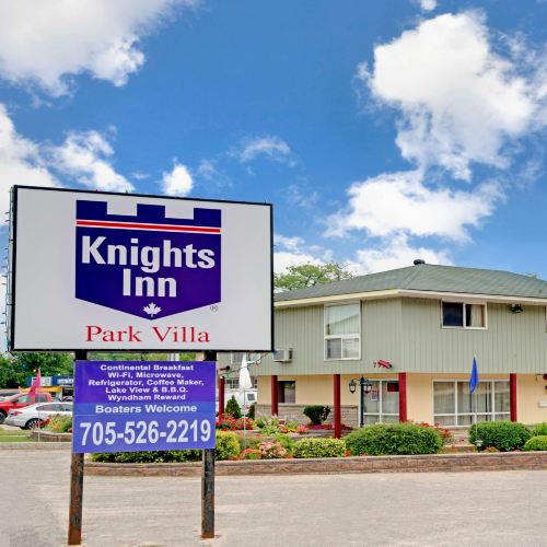 Knights Inn - Park Villa Motel, Midland
