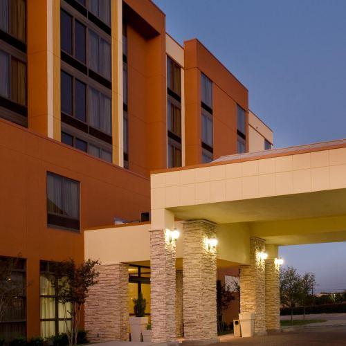 達拉斯沃思堡機場南智選假日套房酒店
