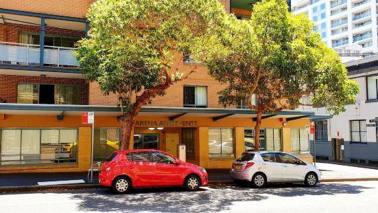 悉尼達令港麗芙公寓