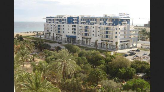 樂摩納哥酒店和海水浴