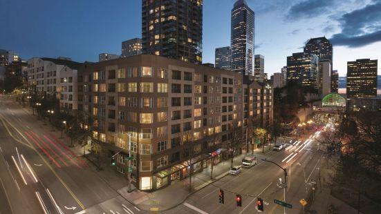西雅圖會展中心派克街希爾頓欣庭套房酒店
