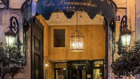 Villa Beaumarchais Paris