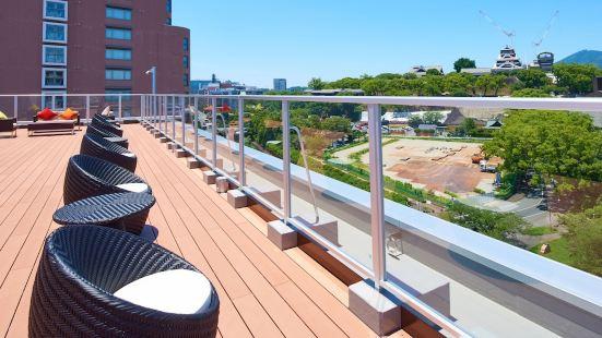 &and Comfy Hotel Kumamotojo View