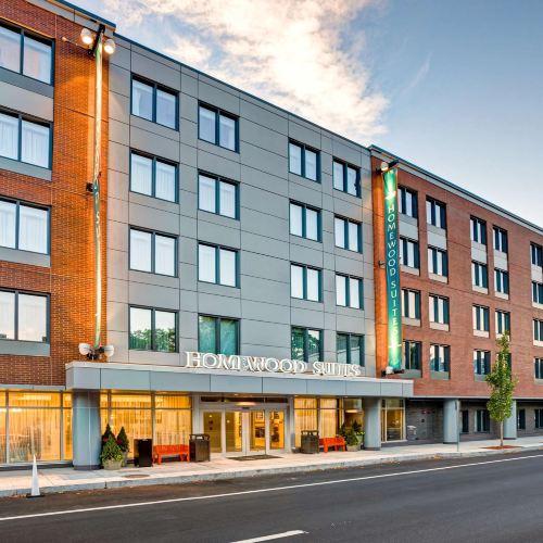 波士頓/布魯克林希爾頓欣庭套房酒店