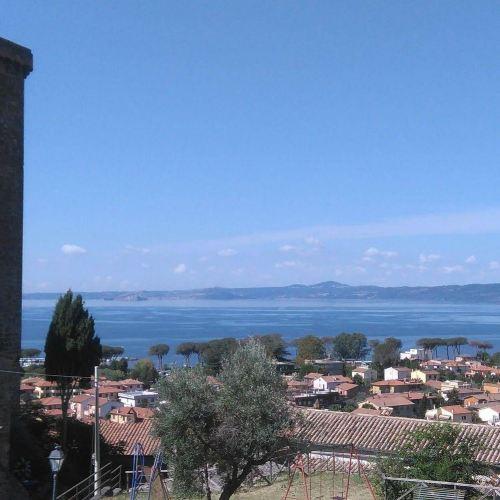 Casa Bolsena Lake Sunny and Elegant with Wonderful Lake and Castle View
