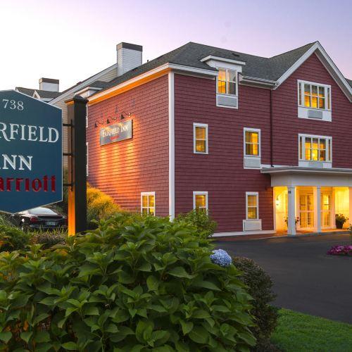 波士頓薩德伯裏萬豪費爾菲爾德酒店