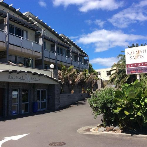 夏日沙灘公寓
