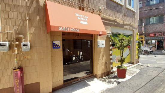 Work Life Balance Guesthouse Busan Station - Hostel