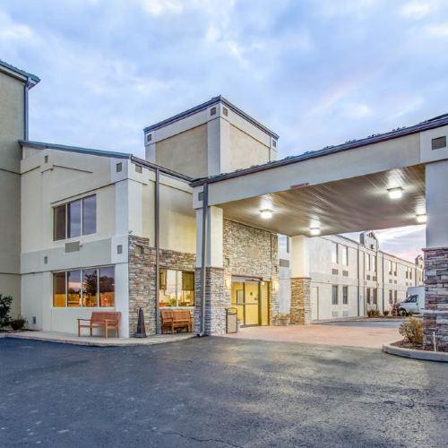 馬斯科吉醫學中心附近舒適酒店