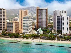 歐胡島火奴魯魯希爾頓威基基海灘酒店(Hilton Waikiki Beach Hotel Oahu Honolulu)