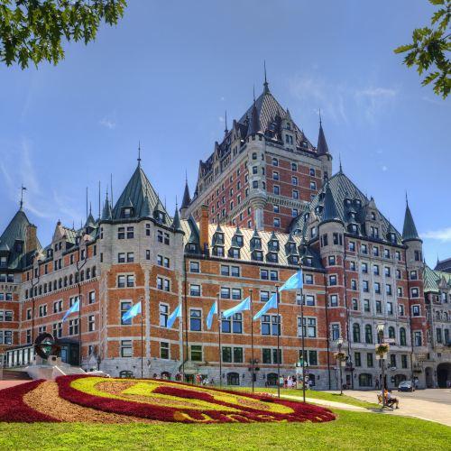 Fairmont le Chateau Frontenac Hotel Quebec City