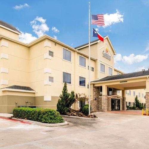 喬治布什洲際機場東舒適套房酒店