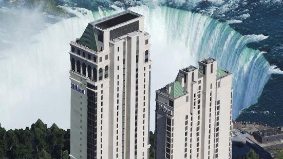 希爾頓尼亞加拉瀑布/瀑布景觀套房酒店
