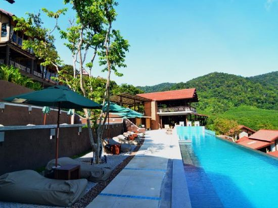 甲米兰塔岛阿拉玛海洋度假村(alama sea village resort krabi)