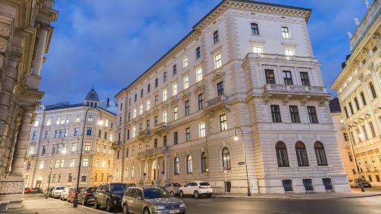 迎賓維也納的宮殿市政廳公寓