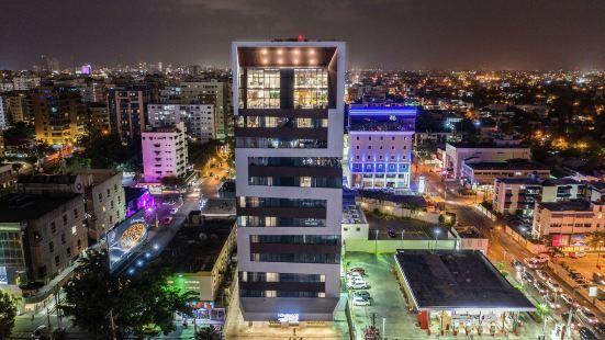 多米尼加共和國聖多明戈希爾頓欣庭套房酒店