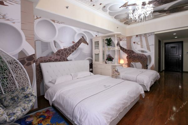 v+长隆国际主题酒店式公寓-动物王国双床野营房