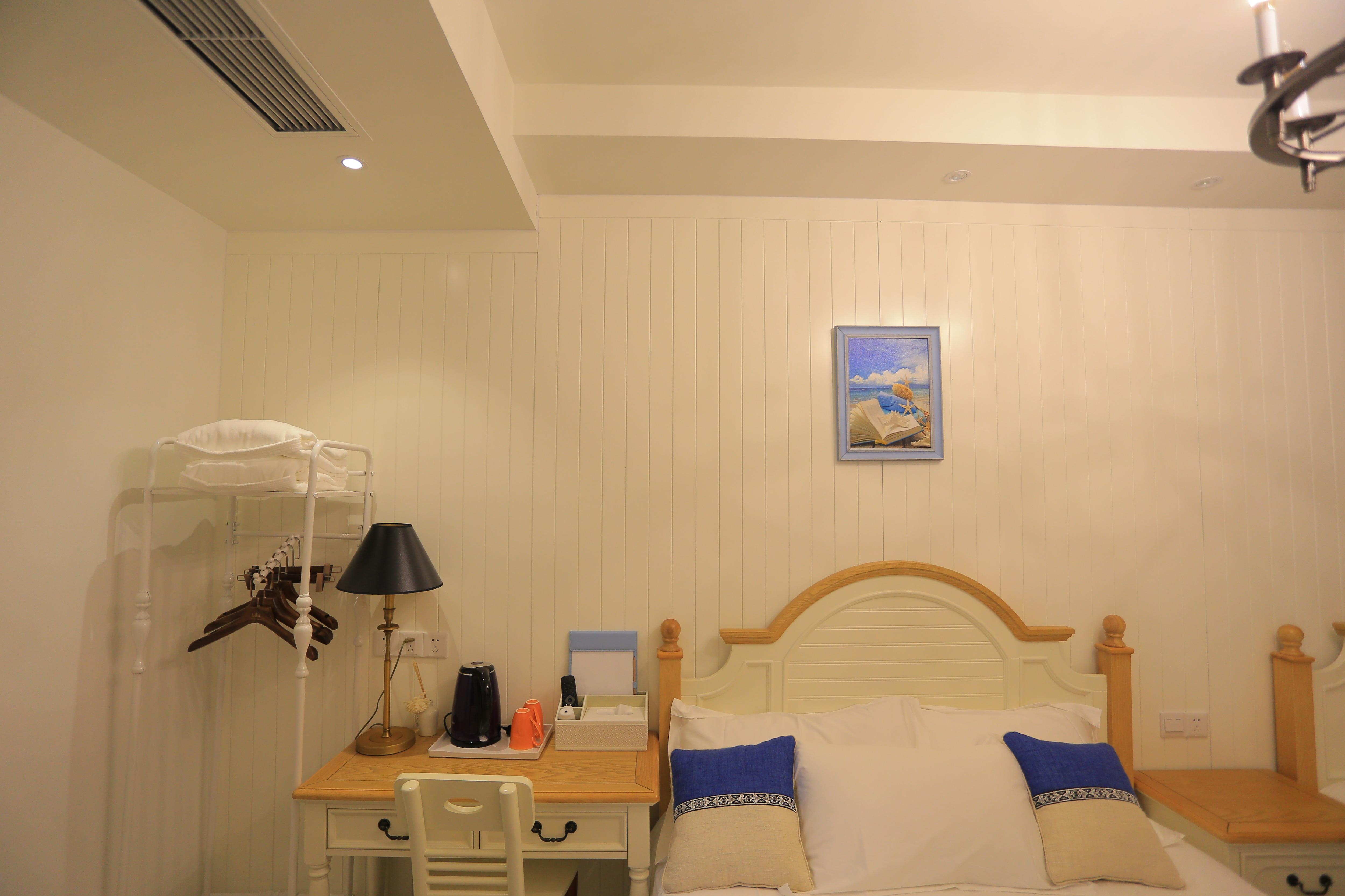 青岛韩舍有海私家酒店-地中海家庭房