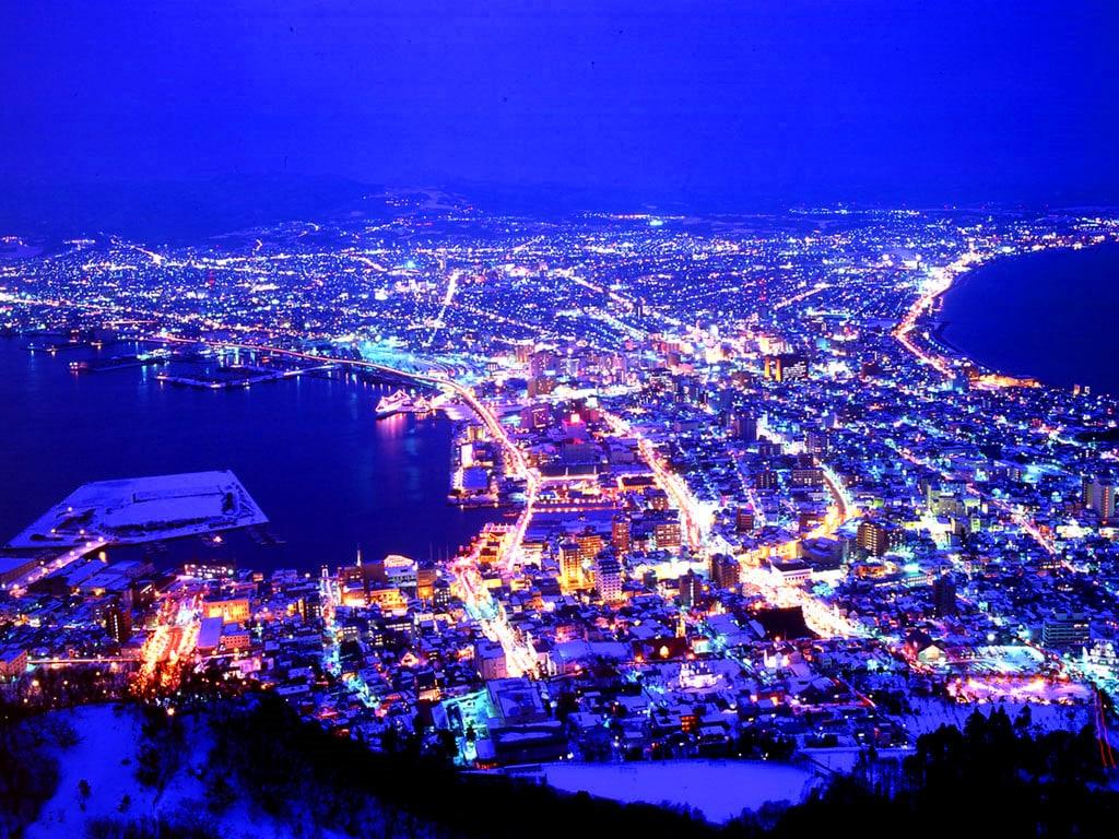 函馆璀璨夜景