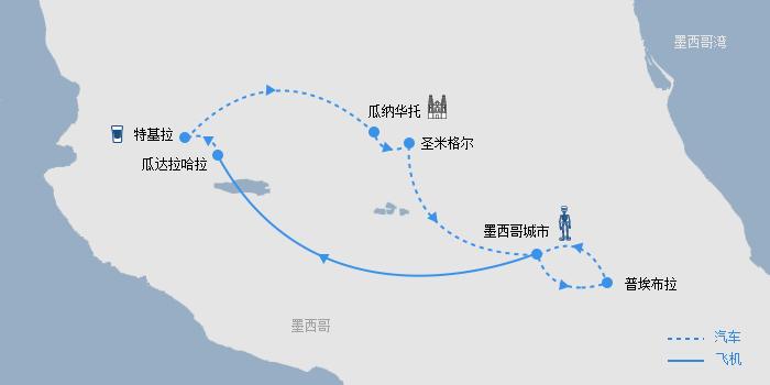 亡灵节路线图-上海