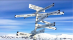 斯瓦尔巴群岛指示牌