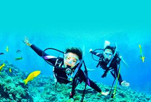 冲绳夏日潜水