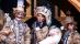 威尼斯狂欢节家庭装扮