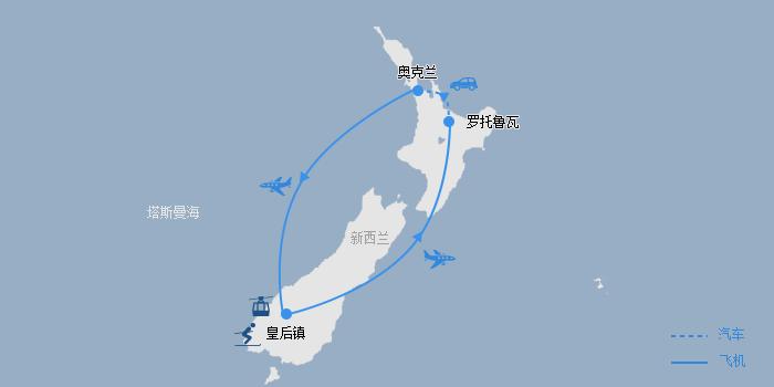 滑雪线路图