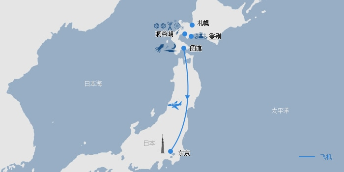 【寻味·尊享北海道】日本6天5晚·函馆百万夜景餐厅