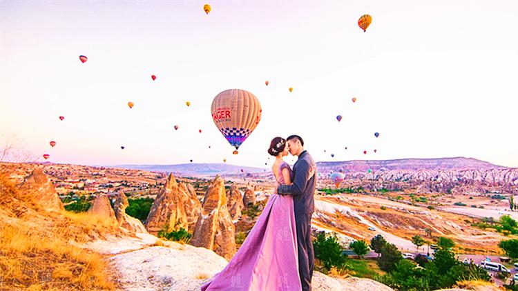 在浪漫的土耳其留下爱恋瞬间