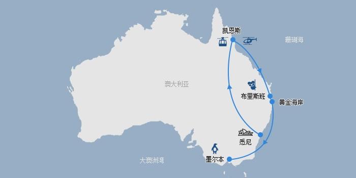 东澳线路图