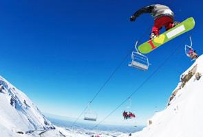 新西兰滑雪