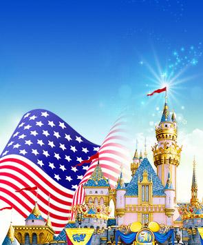 亲子游美国