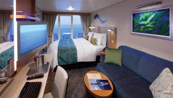 皇家加勒比国际游轮-海洋绿洲号-海景阳台家庭房d1
