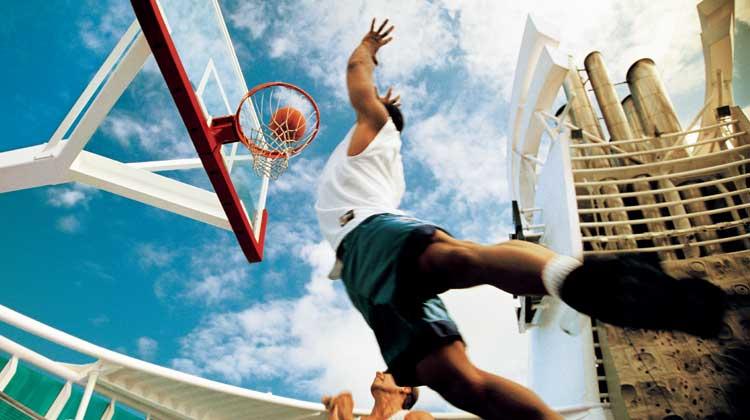 海洋水手号篮球场