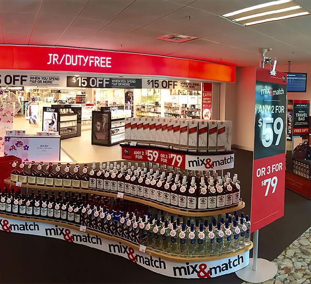 JR免税店(惠灵顿国际机场店)