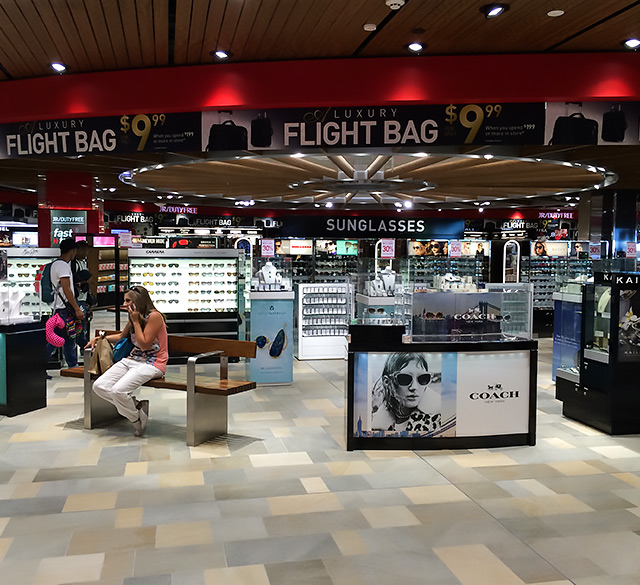 JR免税店(布里斯班国际机场店)